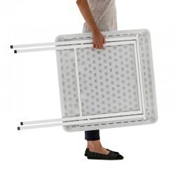 Table polypro légère à déplacer