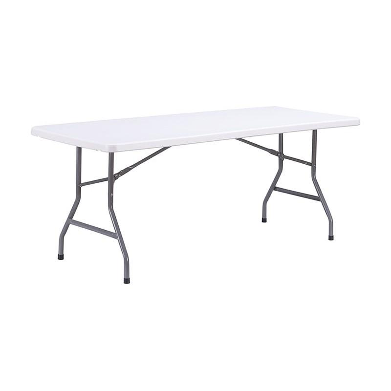 Table en polypro pour collectivités