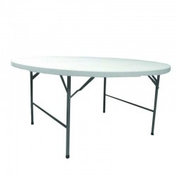 Table pliante polypro