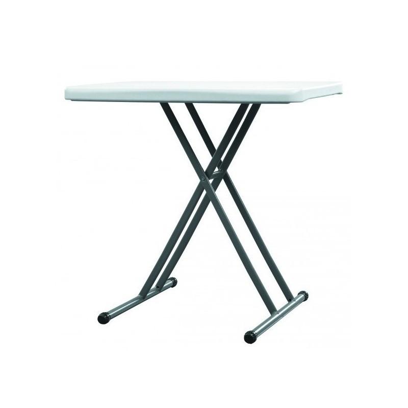 Table en polypro hauteur réglable