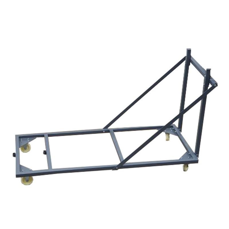 Chariot pour table pliante rectangle