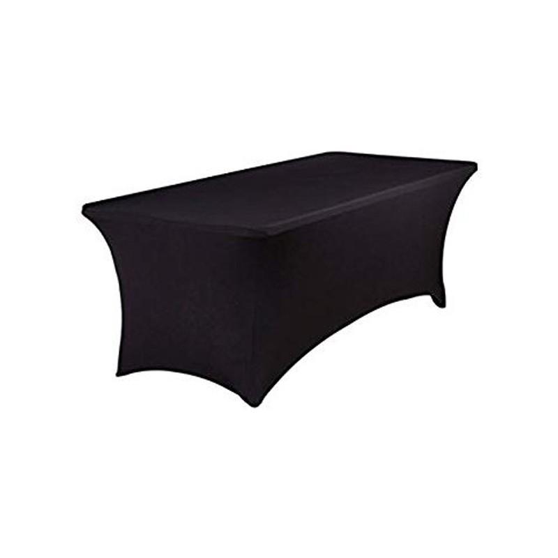 Housse pour table rectangle couvrante aux pieds