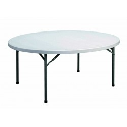 Ø180 CM - TABLE PLIANTE...