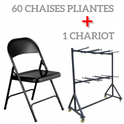 """LOT 60 CHAISES """"POLYCHAISE""""..."""