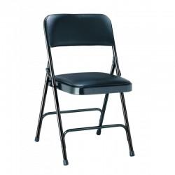Chaise pliante en vinyle